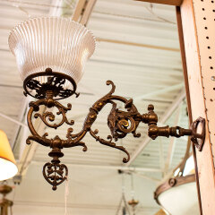 #12426 - Antique Brass Gas Sconce image