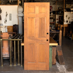 #12859 - 30x80 6 Panel Pine Interior Door image