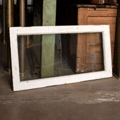 #14319 - 38x19 Salvaged Oak Transom Window image