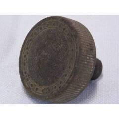 #15842 - Salvaged Antique Hemacite Doorknob image