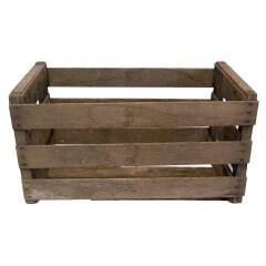 #16089 - Vintage Wood Crate Box image