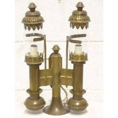 #17684 - Brass Railroad Wall Sconce image