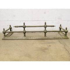 #17700 - Antique Brass Fireplace Fender image