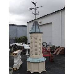 #18041 - Salvaged Cupola with Weathervane image