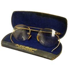 #18759 - Antique Spectacles with Case image
