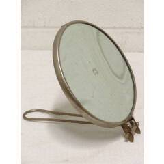 #18824 - Antique Round Shaving Mirror image