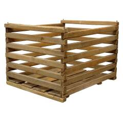 #19094 - Old Slat Wood Crate image