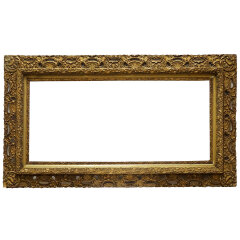 #19177 - Antique Gesso Picture Frame image