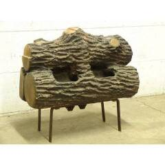 #19559 - Gas Fireplace Logs with Stand image