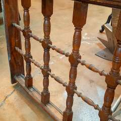 #33942 - Salvaged Victorian Oak Railing image