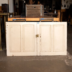 #20209 - Salvaged Painted Wood Cabinet Doors image