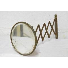 #20620 - Antique Retractable Shaving Mirror image