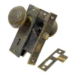 #21033 - Salvaged Door Hardware Set image