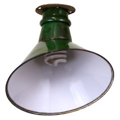 #21233 - Porcelain Enameled Industrial Light image