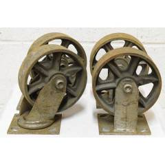 #22607 - Industrial Metal Cart Casters image