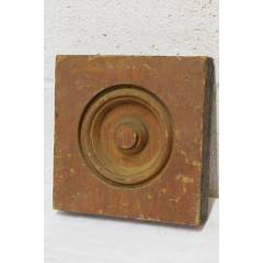 #22614 - Wood Rosette Trim Block image