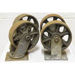 #22624 - Metal Industrial Cart Casters image