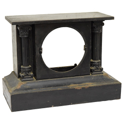 #23670 - Cast Iron Mantel Clock Case image