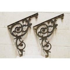 #24185 - Salvaged Cast Iron Brackets image