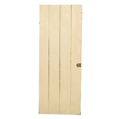 #25196 - 21x50 Salvaged Wood Slat Door image