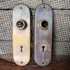 #25703 - Antique Yale & Towne Backplates image