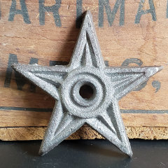 #26326 - Small Cast Iron Star image