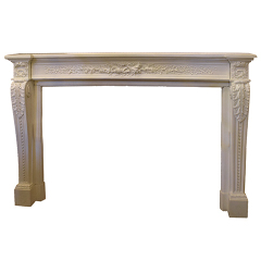 #26462 - Salvaged Cast Fireplace Mantel image