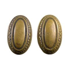 #27366 - Antique Oval Doorknobs image