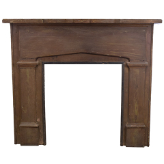 #27541 - Salvaged Wood Fireplace Mantel image