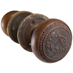 #27731 - Ornate Antique Doorknob Set image