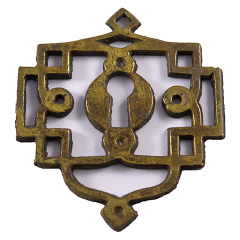 #27878 - Ornate Furniture Keyhole Escutcheon image