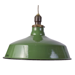 #27956 - Porcelain Enameled Industrial Light image