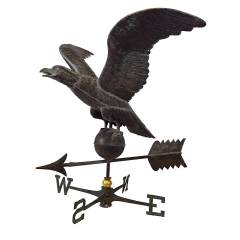#28090 - Salvaged Copper Eagle Weathervane image