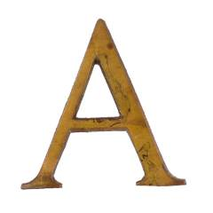 #28294 - Salvaged Brass Letter A image