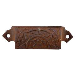 #28829 - Ornate Cast Iron Bin Pull image