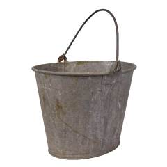 #28852 - Old Oval Metal Bucket image