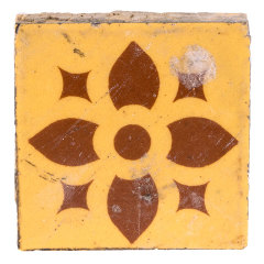 #29198 - Salvaged Ceramic Fireplace Tile image