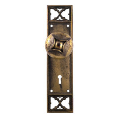 #29519 - Antique Russell Ewrin Door Hardware image
