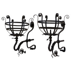 #29658 - Wrought Iron Gas Sconces image