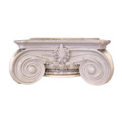 #29918 - Plaster Ionic Column Capital image