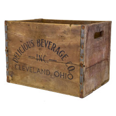 #29946 - Vintage Wood Beverage Crate image
