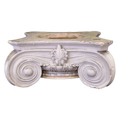 #29990 - Plaster Ionic Column Capital image