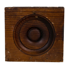 #30239 - Salvaged Rosette Trim Block image