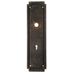 #30493 - Arts & Crafts Entry Backplate image