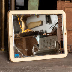 #30657 - Salvaged Industrial Beveled Mirror image