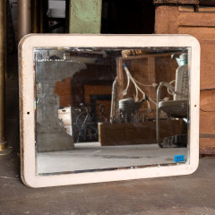 #30665 - Salvaged Industrial Beveled Mirror image