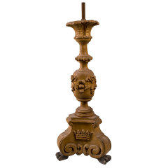 #31453 - Vintage Wood Lamp Base image