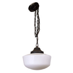 #31514 - Antique Schoolhouse Pendant Light image