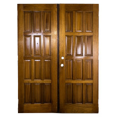 #31518 - 61x82 Salvaged Wood Entry Doors image