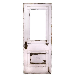 #32064 - Salvaged Victorian Entry Door image